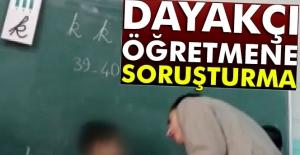 Ümraniye'deki o öğretmene soruşturma