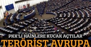 AB teröristlere kucak açıyor