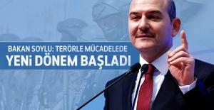 Bakan Soylu: Terörle mücadelede yeni dönem başladı