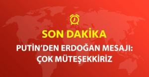Başbakan Yıldırım'la Görüşen Putin: Erdoğan'a Müteşekkiriz