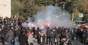 Beşiktaşlı taraftarlar Kadıköy'e hazır