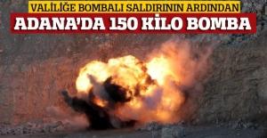 Bombalı araçta ele geçen 150 kilo bomba böyle patlatıldı