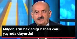 """Çalışma Bakanı Müezzinoğlu """"Emekliye Promosyon Bugün-Yarın Açıklanacak"""""""