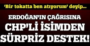 CHP'li başkandan Erdoğan'ın çağrısına destek