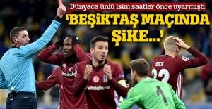 'Dinamo Kiev-Beşiktaş maçında şike olabilir'