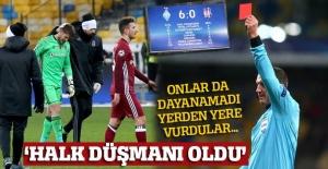 Dinamo Kiev-Beşiktaş maçının hakemine ülkesinde tepki var