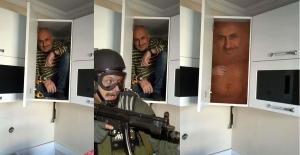 Dolaba saklanan adamın fotoğrafı sosyal medyayı kırdı geçirdi! Görenler Photoshop'a