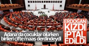 Erdoğan kızdı, iptal edildi..!