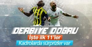 Fenerbahçe - Beşiktaş maçının 11'leri belli oldu