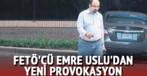 FETÖ'cü Emre Uslu'dan yeni provokasyon