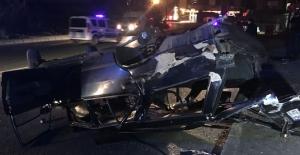 Kâğıthane'de trafik kazası: 1 ağır 3 yaralı