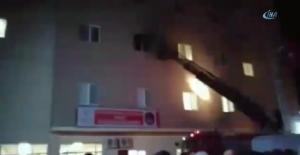 Mardin Kız Yurdunda yangın paniği