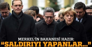 Merkel saldırganın sığınmacı olabileceğini söyledi