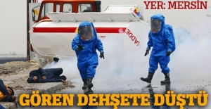 Mersin'deki afet tatbikatı nefes kesti