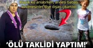 ÖLÜ TAKLİDİ YAPTIM!'