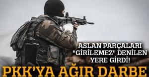PKK'ya Tunceli'de büyük darbe