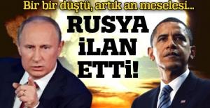 Rusya ilan etti: 'ABD ile görüşeceğiz'