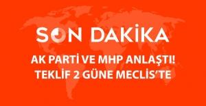 Son dakika! AK Parti ile MHP 'Yeni Anayasa'da Uzlaştı: Tekif Cuma ya da Cumartesi Meclis'te
