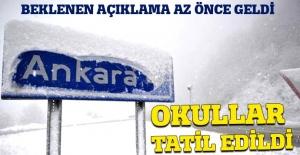 Son dakika! Ankara#039;da okullar...