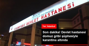 Son Dakika! Esenyurt Devlet Hastanesi Domuz Gribi Şüphesiyle Karantinaya Alındı!
