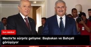 Son Dakika! Meclis'te Sürpriz Görüşme: Başbakan Yıldırım ile MHP Lideri Bahçeli Görüşüyor