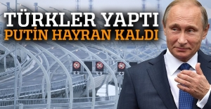 Türkler yaptı Putin açtı