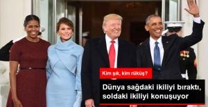 ABD'nin Yeni First Lady'si Kıyafetiyle Dikkat Çekti