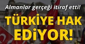 ALMANLAR GERÇEĞİ İTİRAF ETTİ! TÜRKİYE HAK EDİYOR!