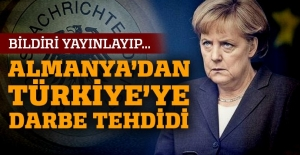 'Almanya Türkiye'yi tehdit eden darbe bildirisi yayınladı'