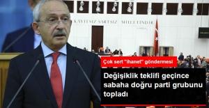 Anayasa Değişiklik Teklifi Meclis'ten Geçti, Kılıçdaroğlu Parti Grubunu Topladı