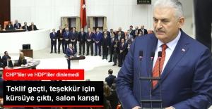 """Anayasa Teklifi Geçti, Başbakan """"Söz Artık Milletindir"""" Dedi"""