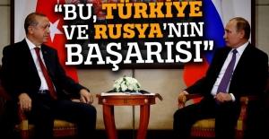 'Astana görüşmeleri Rusya ve Türkiye'nin başarısı'
