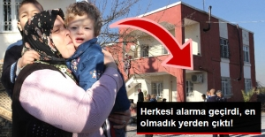 Babaannesinin Evinde Uyuyakaldı, Tüm Mahalleyi Alarma Geçirdi