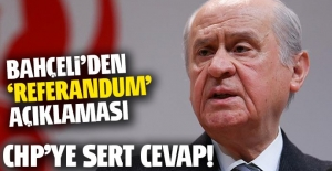 Bahçeli'den referandum açıklaması