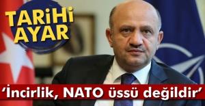 Bakan Işık: İncirlik Üssü bir NATO üssü değildir