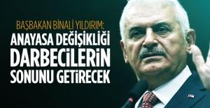 Başbakan Yıldırım#039;dan Anayasa...