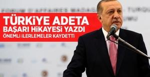 Cumhurbaşkanı Erdoğan: Türkiye başarı hikayesi yazdı