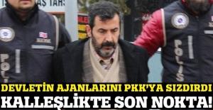 Devlet ajanları listesini PKK'ya sızdırdı!
