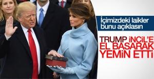 Donald Trump'ın yemin töreni