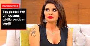 Ebru Polat, Ünlü Bir İş Adamının 100 Bin Dolarlık Yemek Teklifini Reddetti