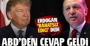 Erdoğan'ın sözlerine ABD'den ilk cevap!