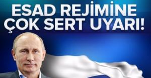 Esad rejimine çok sert uyarı!