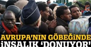 Fransa polisi göçmenlere nefes aldırmıyor
