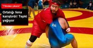 """Güreş Federasyonu, """"Recep İvedik 5' Filmini Kınadı: Ya Değiştirin, Ya da Sahneleri Filmden Çıkarın"""