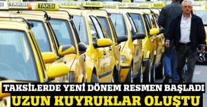 İstanbul'da taksilerde yeni dönem başladı!