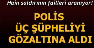 İstanbul'da, terör örgütü DHKP-C'ye yönelik  operasyonda 3 kişi gözaltına alındı.