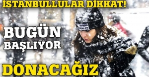 İstanbullular dikkat! Hava 7 derece birden düşecek