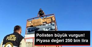 Kahramanmaraş'ta, 30 Bin Kaçak Sigara Ele Geçirildi