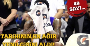 Los Angeles Lakers, 49 sayı fark yedi