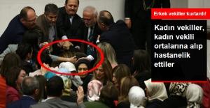 Meclis'te AK Partili Gökcen Özdoğan Enç'e saldırı
